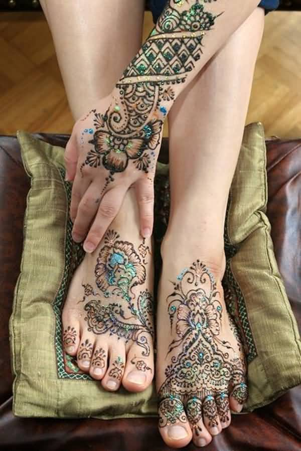 Traditional Henna Tattoo Designs: 40 Best Henna Tattoo Designs And Meanings That Are