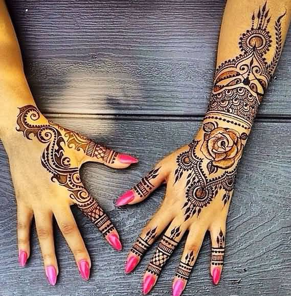 Beautiful Henna Tattoo Designs For Your Wrist: 40 Best Henna Tattoo Designs And Meanings That Are