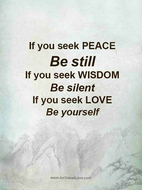 What Is Peace? 15 Quotes To Create Peace Of Mind & Inner ...